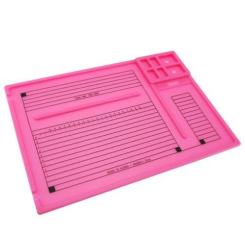 실리콘 클린매트- 핑크